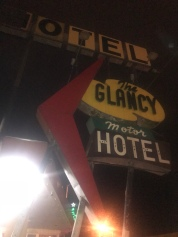 dodgy hotel on route 66!